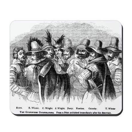 gunpowder conspiracy Mousepad