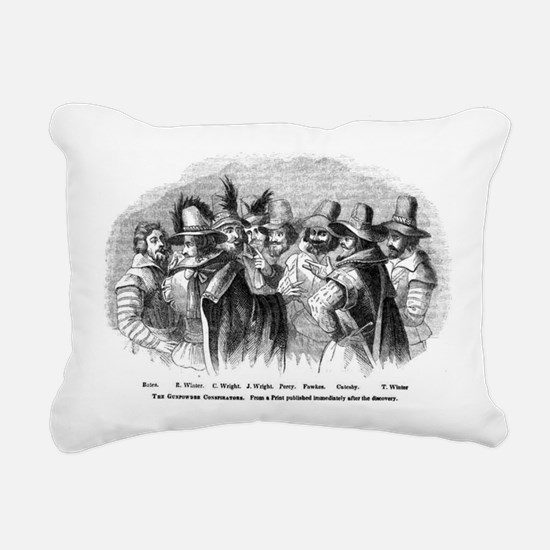 gunpowder conspiracy Rectangular Canvas Pillow