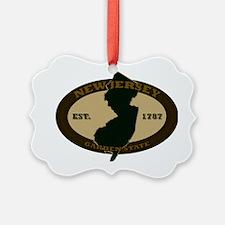 New Jersey Est 1787 Ornament