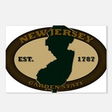 New Jersey Est 1787 Postcards (Package of 8)