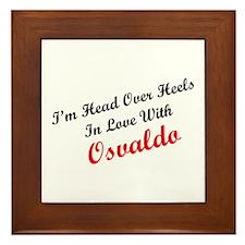 In Love with Osvaldo Framed Tile