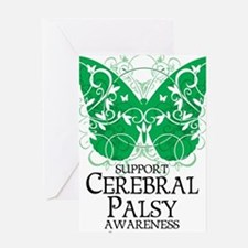 Cerebral-Palsy-Butterfly Greeting Card