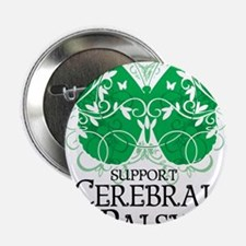"Cerebral-Palsy-Butterfly 2.25"" Button"