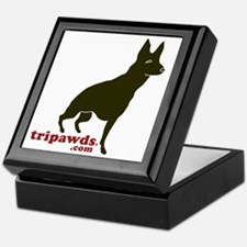 Tripawds.com Three Legged GSD Keepsake Box