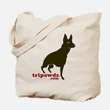 Tripawds.com Three Legged GSD Tote Bag