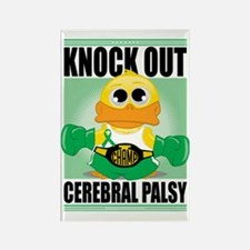 Knock-Out-Cerebral-Palsy Rectangle Magnet