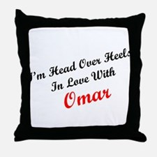 In Love with Omar Throw Pillow