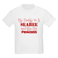 My Daddy is A Seabee and i'm  Kids T-Shirt