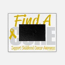 Childhood-Cancer-Find-A-Cure-blk Picture Frame
