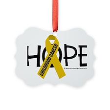 Childhood-Cancer-Hope Ornament