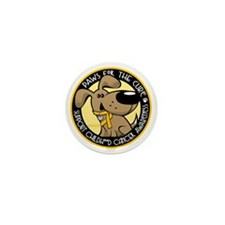 Paws-for-the-Cure-Childhood-Cancer Mini Button