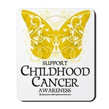 Childhood-Cancer-Butterfly Mousepad