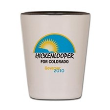 Hickenlooper 2010 Shot Glass