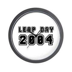 LEAP DAY 2004 Wall Clock