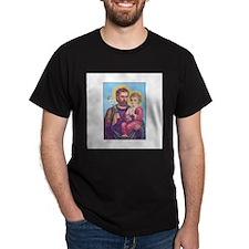 St. Joseph with Jesus T-Shirt