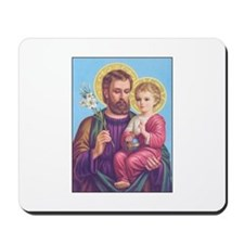 St. Joseph with Jesus Mousepad
