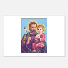 St. Joseph with Jesus Postcards (Package of 8)