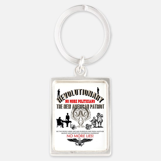 Revolutionary Portrait Keychain