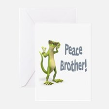 Peace Lizard Greeting Cards (Pk of 10)