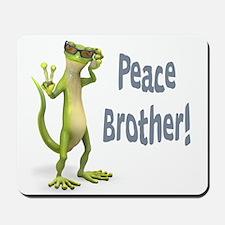Peace Lizard Mousepad