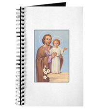 Saint Joseph - Baby Jesus Journal