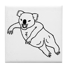 Drop Bear Tile Coaster