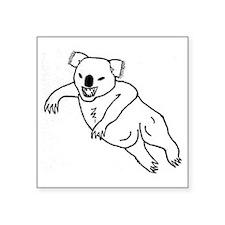 "Drop Bear Square Sticker 3"" x 3"""