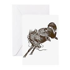 Bucking Bronco Western Greeting Cards (Package of