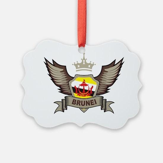WingsBrunei1Bk Ornament