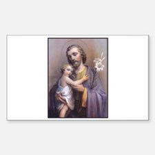 St. Joseph Rectangle Decal
