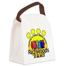 PAWS rainbow people Canvas Lunch Bag