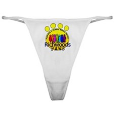PAWS rainbow people Classic Thong