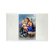 Saint Joseph Rectangle Magnet