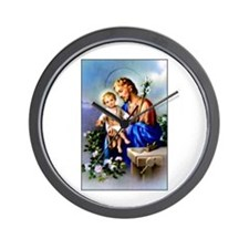 Saint Joseph Wall Clock