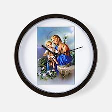 Saint Joseph Wall Clock