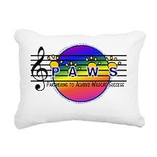 PAWS music Rectangular Canvas Pillow