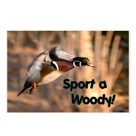 Sport A Woody Postcards (Package of 8)