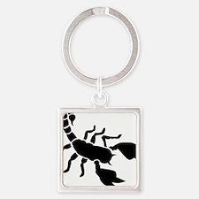 scorpion Square Keychain