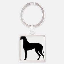dog_dogge Square Keychain