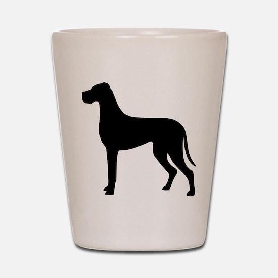 dog_dogge Shot Glass