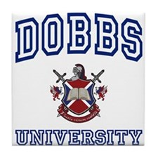 DOBBS University Tile Coaster