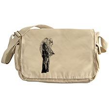 la_llorona_behave_black Messenger Bag