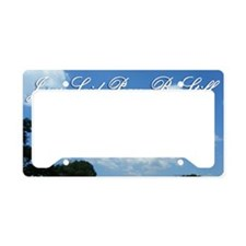 Jesus-Said-Peace-Be-Still License Plate Holder