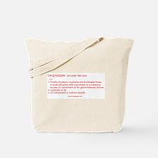 Baton Rouge Lagniappe Tote Bag