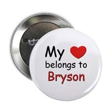 My heart belongs to bryson Button