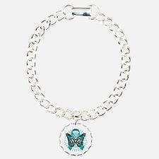 Cervical-Cancer-Butterfl Bracelet
