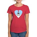 Loving Penguins Women's Dark T-Shirt