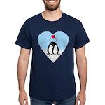 Loving Penguins Dark T-Shirt
