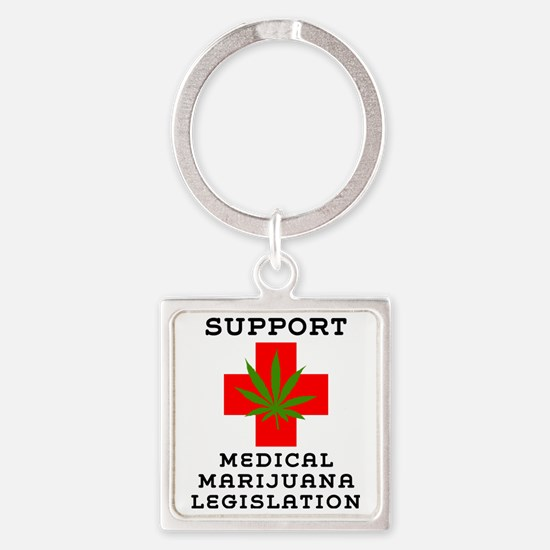 can54light Square Keychain