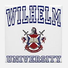 WILHELM University Tile Coaster